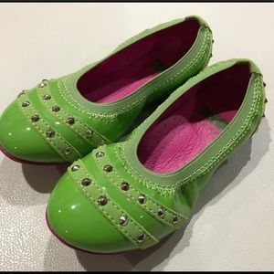 Kio Trend Emerald Girls Shoes Size 10US/ 27EU